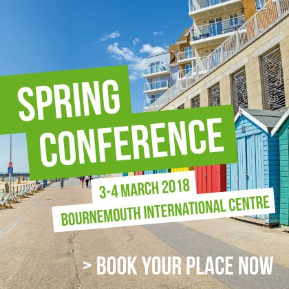 Spring conference 2018: Book your place now